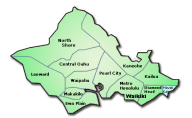 Map of O'ahu MLS Areas