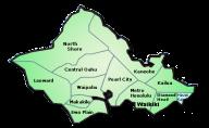 Map of O'ahu MLS Areas