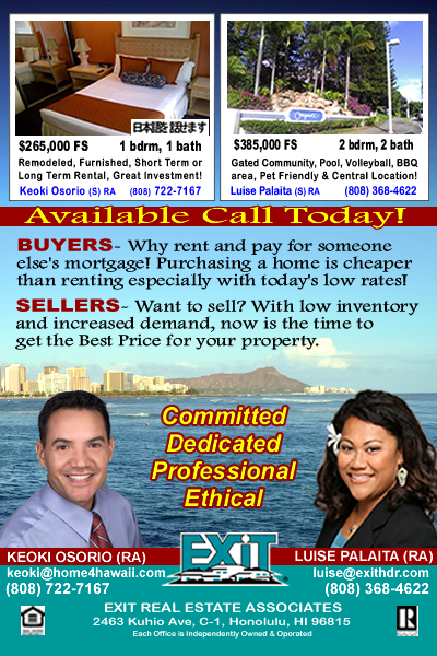 Hawaii Parent Magazine Featured EXIT Realtors