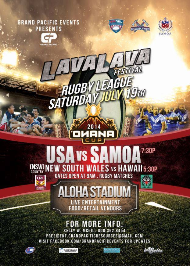 Lavalava Festival – Aloha Stadium 2014