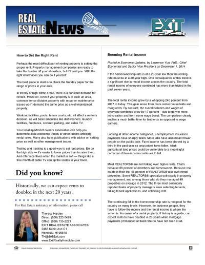 Invest Newsletter 122014