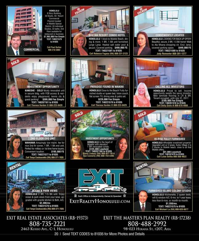Estates and Homes EXIT Real Estate Associates Feb 2017