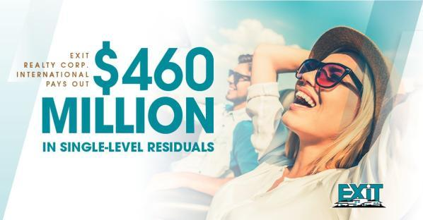 Exciting News! $460 Million in Residual Income Paid To-Date!