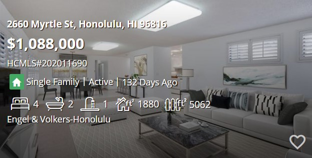 HiCentral MLS #202011690