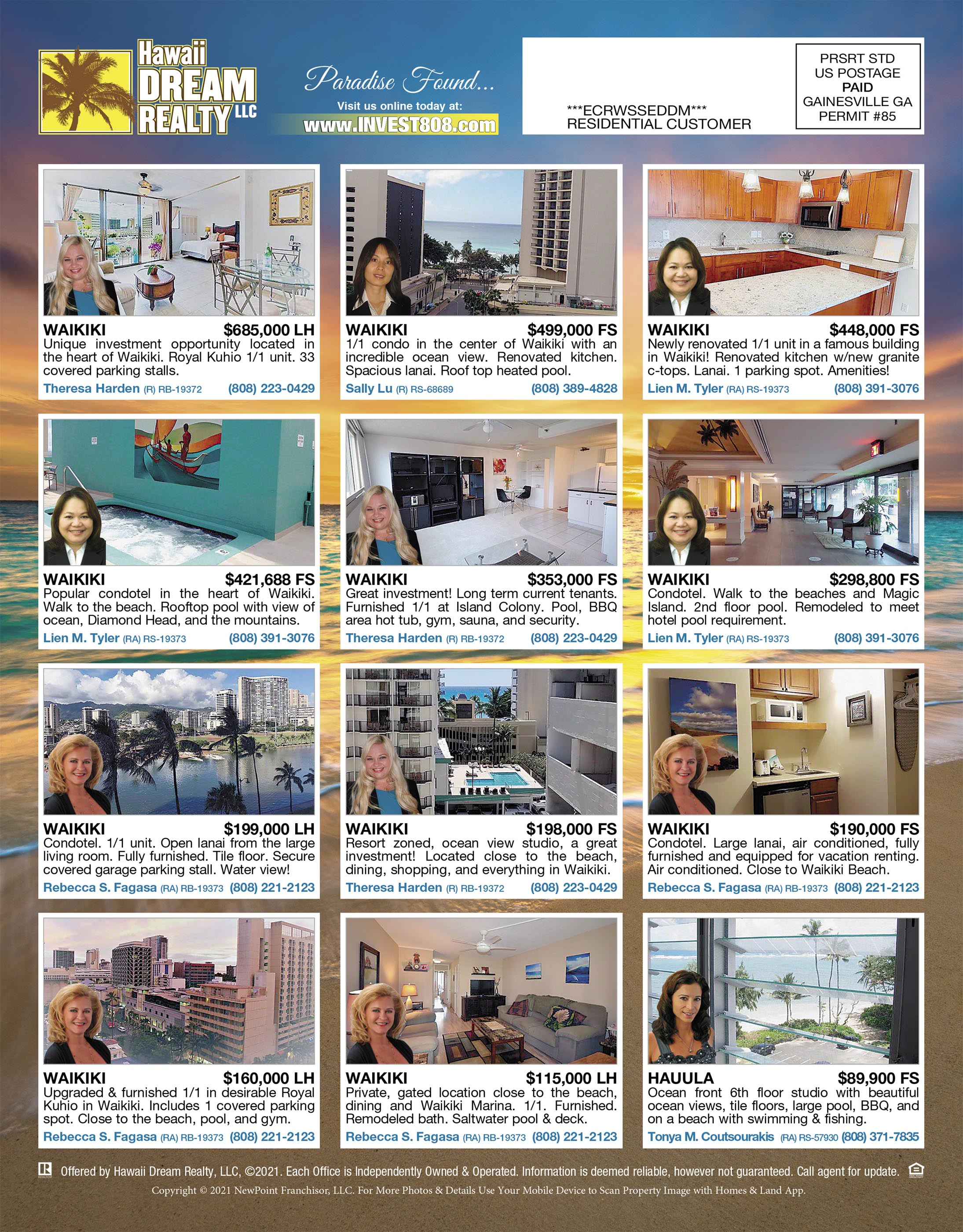 March 2021 Hawaii Featured Honolulu Real Estate For Sale