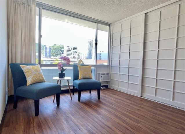 Kewalo Gardens Makiki Fee Simple 1-Bedroom with Parking