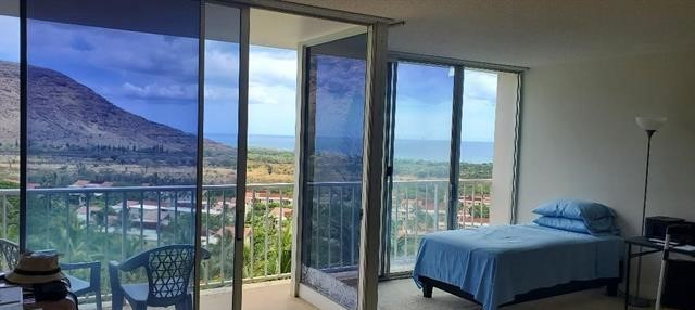 Desirable High Floor Makaha Valley Towers Studio